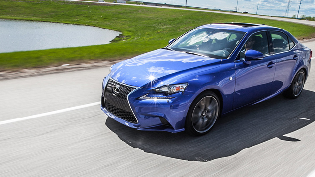 2015 Lexus IS 350 Sedan 4WD