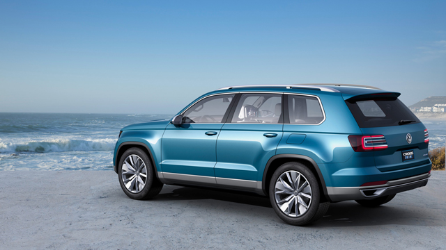 Volkswagen to Reveal New Crossover at Detroit Auto Show